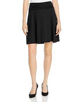 Three Dots - Foldover Waist Skirt