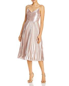 Aidan by Aidan Mattox - Pleated Cocktail Dress