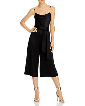 Alice and Olivia - Harmon Belted Gaucho Jumpsuit