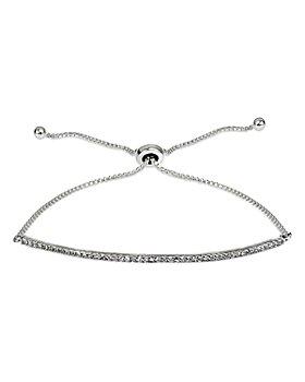Bloomingdale's - Diamond Pavé Bar Adjustable Bracelet in Sterling Silver, 0.47 ct. t.w. - 100% Exclusive