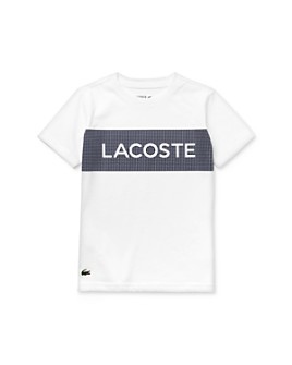 Lacoste - Boys' Color-Block Logo Tee - Little Kid, Big Kid