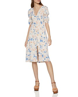 BCBGENERATION - Floral Smocked Dress