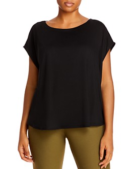 Eileen Fisher Plus - Boat-Neck Top