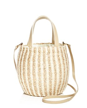 KAYU - Tayla Mini Straw Bucket Bag