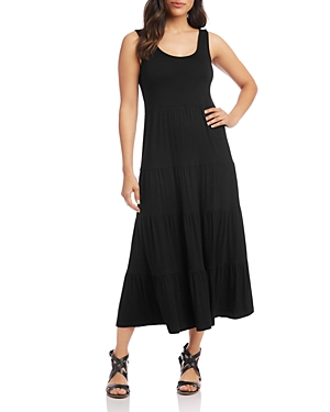 Karen Kane TIERED MIDI DRESS