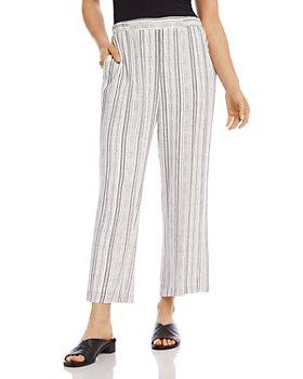 Karen Kane - Cropped Striped Pants