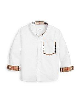 Burberry - Boys' Harry Button-Down Oxford Shirt - Little Kid, Big Kid