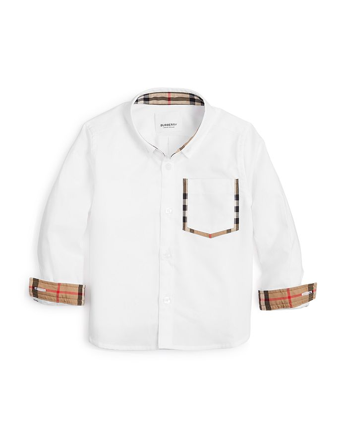 Burberry - Boys' Harry Button-Down Oxford Shirt - Little Kid, Big Kid