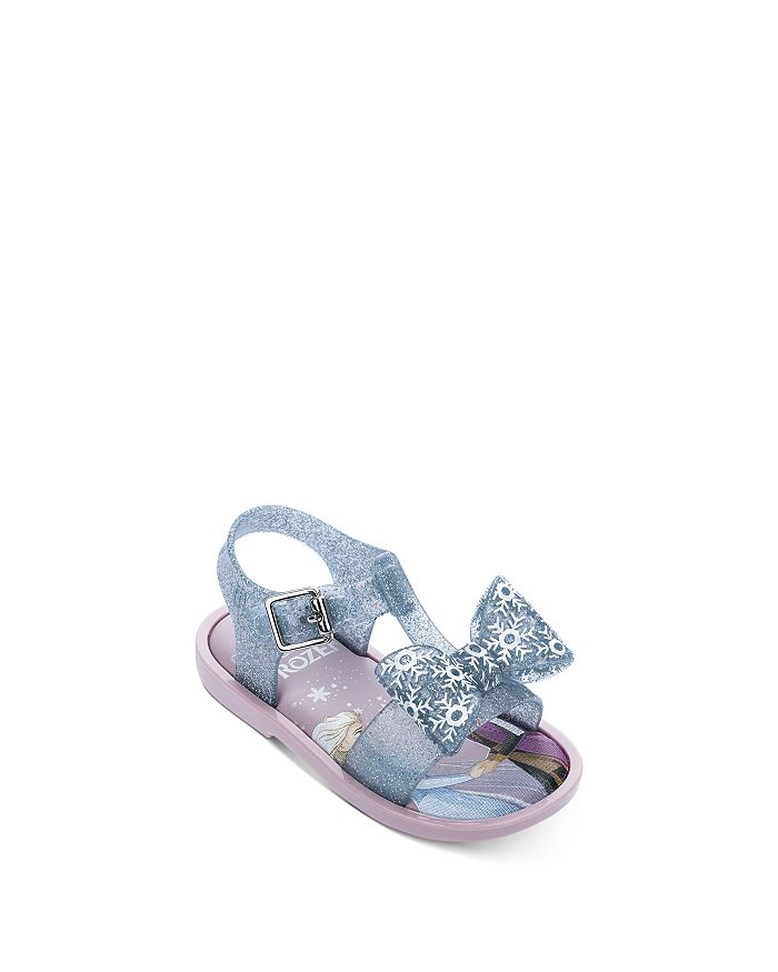 Mini Melissa - Girls' Frozen Mar Sandals - Walker, Toddler