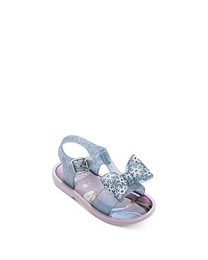 Mini Melissa Girls\\\' Frozen Mar Sandals - Walker, Toddler