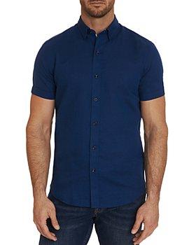 Robert Graham - Bradley Solid Slim Fit Button-Down Shirt - 100% Exclusive