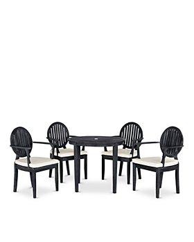 SAFAVIEH - Chino 5-Piece Indoor/Outdoor Dining Set