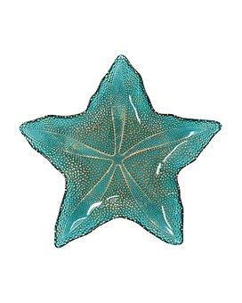 VIETRI - Sea Glass Medium Starfish Dish