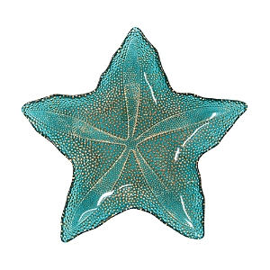 Vietri Sea Glass Medium Starfish Dish-Home