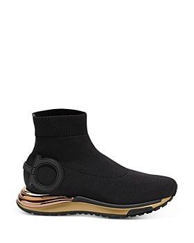 Salvatore Ferragamo - Women's Slip On Platform Sneakers