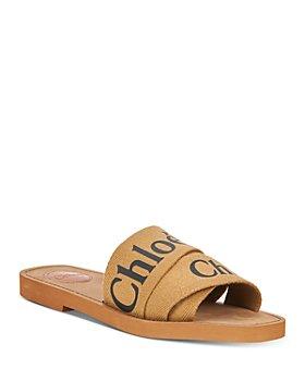Chloé - Women's Woody Logo Slide Sandals