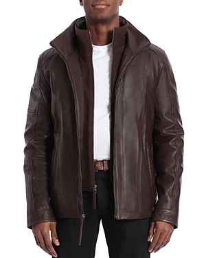Bagatelle Regular Fit Layered-Look Jacket