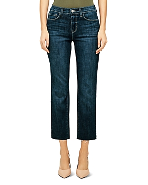 L\\\'Agence Sada Cropped Slim Jeans in Utica-Women
