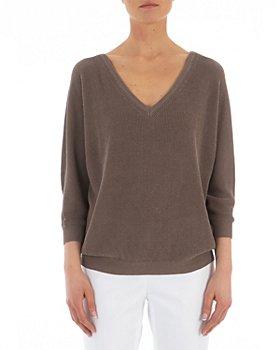 Peserico - V-Back Knitted Sweater