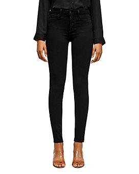 L'AGENCE - Marguerite Skinny Jeans in Dark Vintage