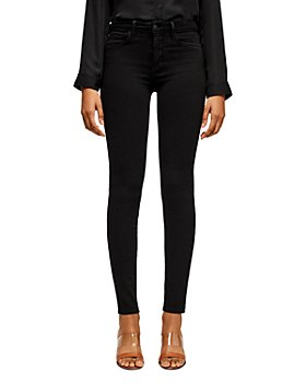 L'AGENCE - Marguerite Skinny Jeans in Noir