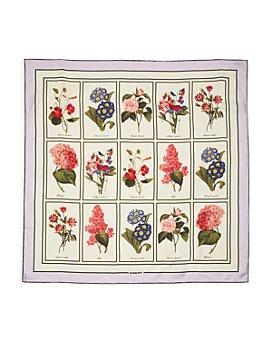 Burberry - Floral Study Silk Scarf