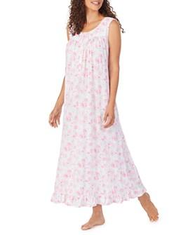 Eileen West - Floral-Print Ballet Nightgown