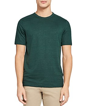 Theory - Essential Linen Stretch Marled Tee