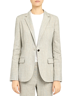 Theory Staple Notch Lapel Blazer