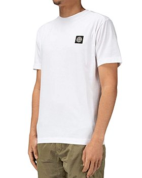 Stone Island - Cotton Garment Dyed Logo Patch Tee