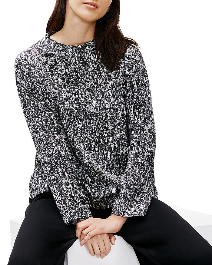 Eileen Fisher - Patterned Boxy Top