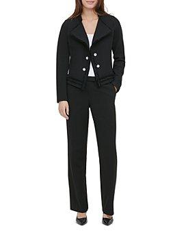 Calvin Klein - Textured Knit Open Jacket