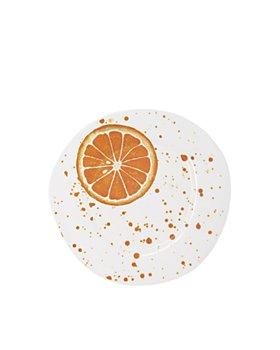 VIETRI - Melamine Fruit Orange Salad Plate