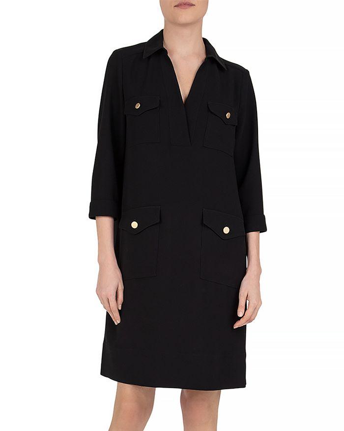 Gerard Darel Solange Shirt Dress In Black