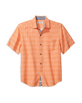 Tommy Bahama - Coconut Point Geo Regular Fit Camp Shirt