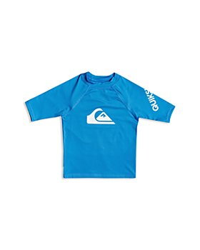 Quiksilver - Boys' All Time Short Sleeve Rash Guard - Little Kid