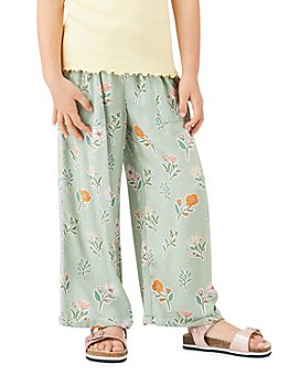 Peek Kids - Girls' Jayne Floral Print Crop Pants - Toddler, Little Kid, Big Kid