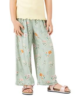 Peek Kids - Girls' Jayne Floral Print Crop Pants - Toddler, Little Kid, Big Kid