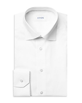Eton - Cotton Micro Braid Contemporary Fit Dress Shirt
