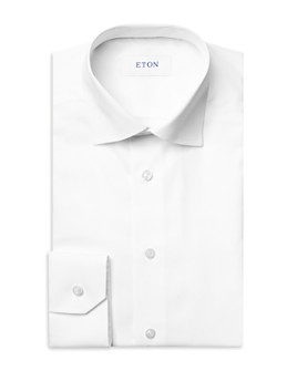 Eton - Cotton Micro Braid Contemporary Fit Dress Shirt