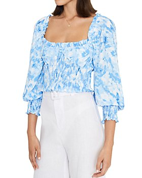 Faithfull the Brand - Willow Smocked Top