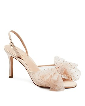 kate spade new york - Women's Bridal Sparkle Slingback Sandals