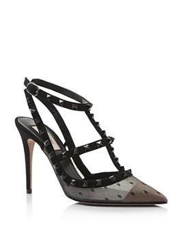 Valentino Garavani - Women's Rockstud T-Strap High-Heel Pumps