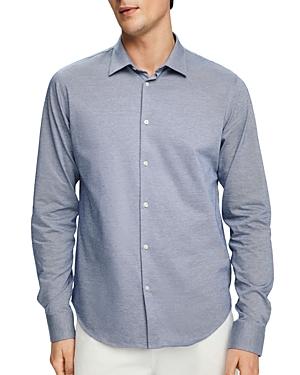 Scotch & Soda Jacquard Knit Regular Fit Dress Shirt-Men