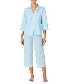 Ralph Lauren - Printed Woven Capri Pajama Set