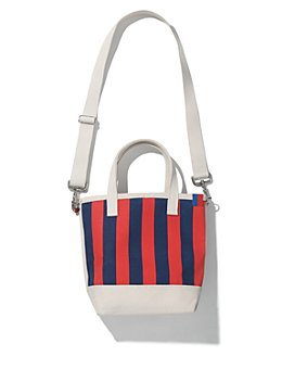 Kule - The Stripe Canvas Bucket Bag