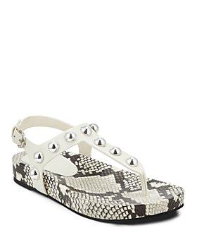 Marc Fisher LTD. - Women's Lindie Studded T-Strap Platform Sandals