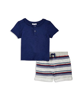 Splendid - Boys' Tee & Striped Shorts Set - Baby