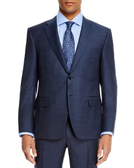 Canali - Classic Fit Navy Suit