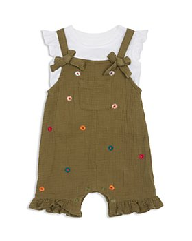 Peek Kids - Girls' Fernanda Tee & Embroidered Shortall Set - Baby